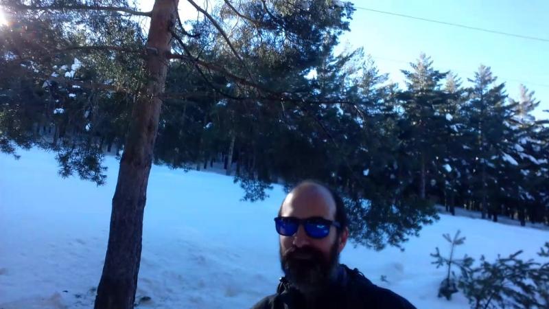 Esqui nordico ( Puerto de la ragua ) Sierra nevada