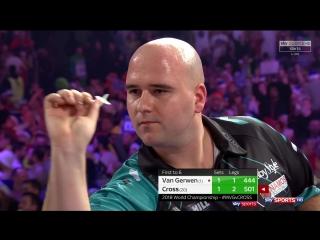 Michael van Gerwen vs Rob Cross (PDC World Darts Championship 2018 / Semi Final)