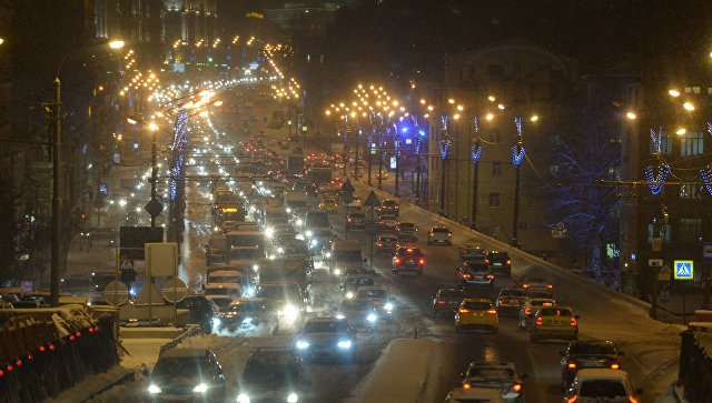 Коллапс на дорогах Москвы