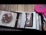 Tutorial for My Prima Rose Quartz 5 Page Chunky Mini Album
