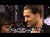 ECHO 2013 - David Garrett nach der Preisvergabe_rus sub