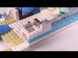 LEGO Friends Dolphin Cruiser - Playset 41015 Toy Unboxing  Speed Build