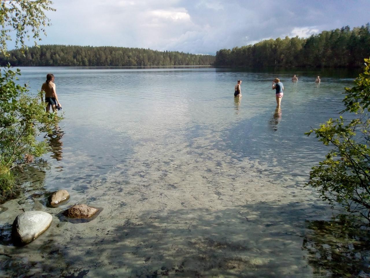 Четыре волшебных озера у станции Тарасовская, что на Карельском перешейке. Фотоотчет о походе