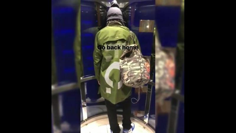 Lau Safe travels 😍😘Via Larry's IGS 👻