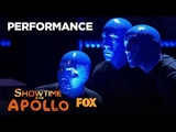 The Blue Man Group Ensure A Great Performance Season 1 Ep. 9 SHOWTIME AT THE APOLLO