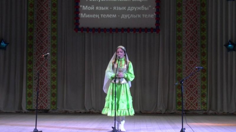 Ильбина Хайруллина. Буздякский район, с. Буздяк