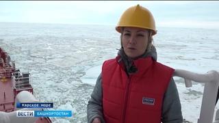 ГТРК «Башкортостан» продолжает арктический поход по маршруту знаменитых полярников