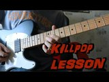 How to play Killpop by Slipknot Guitar Solo Lesson Разбор соло Killpop