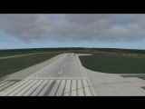 Посадка в Иркутске. Як-40