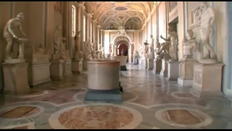 Открывая Ватикан. Эпизод 8. Папская Коллекция.
