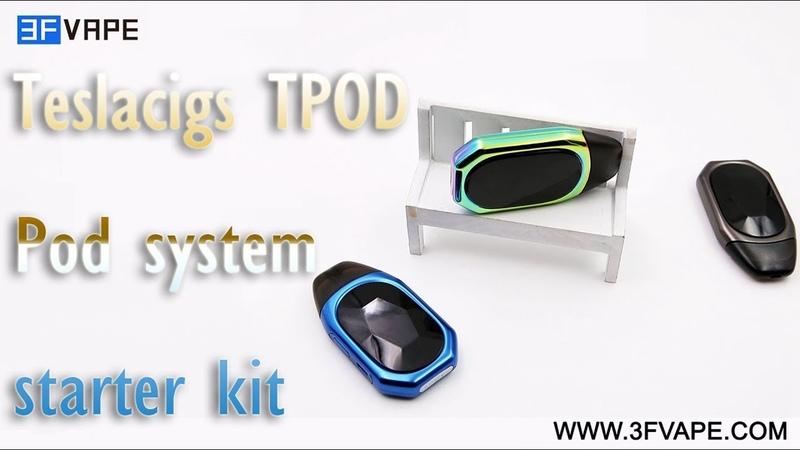 Teslacigs TPOD Pod system starter kit