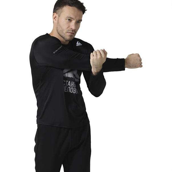 Футболка с длинным рукавом Be More Human