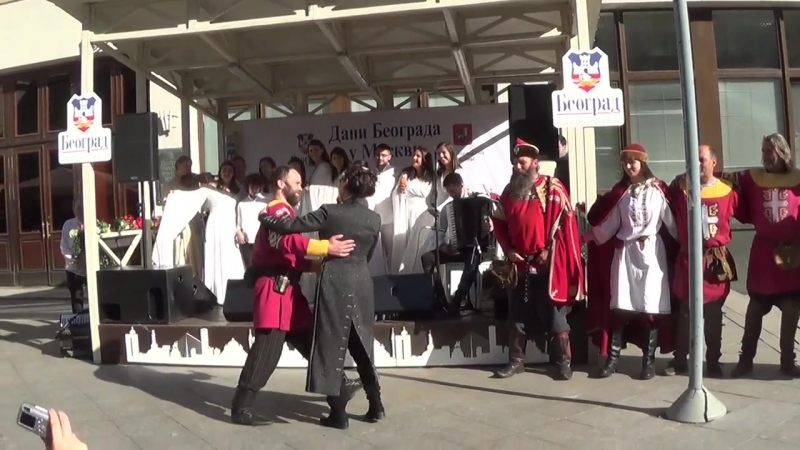 Косовские Божури - Сербская песня о России