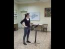 Работа с хором Николаевой Анны 4 курс ОХД