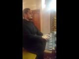 Иеромонах Фотий Мочалов. Пробные аккорды на органе