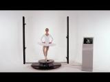 3D Scanner Texel Portal human 3D model