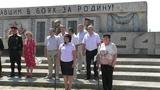 Крым, с. Батальное. Прими солдат поклон земной