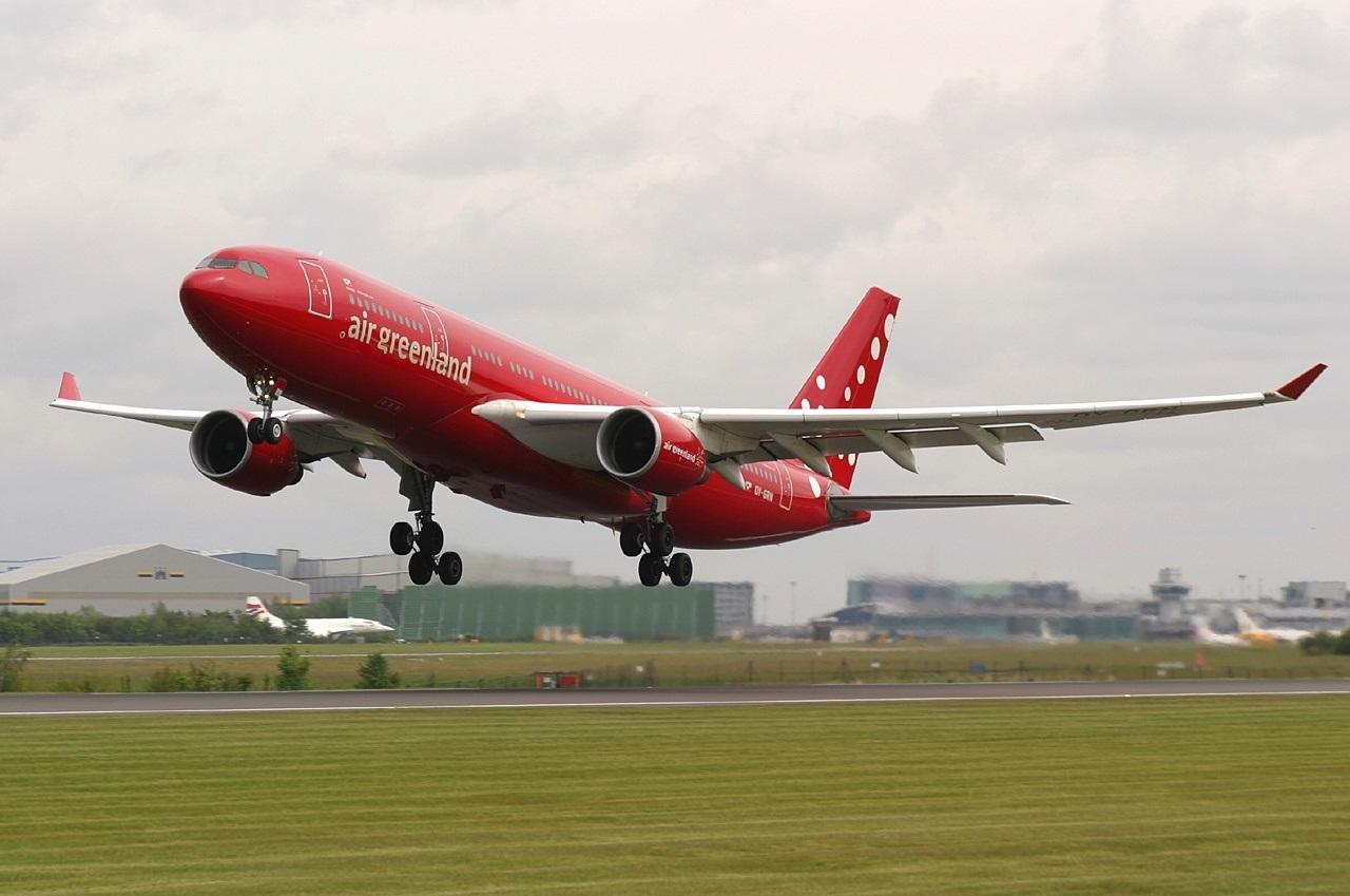 Взлет Airbus A330