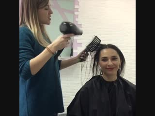 Ботокс волос для Юлии Плотниковой