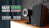 Razer Nommo vs Edifier R1700BT Sound Demo w Bass Test