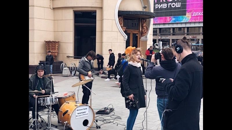 Einmal in Russland Musik auf und unter Moskaus Straß