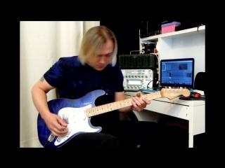 "My new guitar sd guitars ""blue angel"""