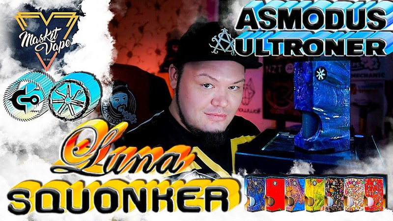 Luna by Ultroner Asmodus Squonker Box Mod Сквонкер на плате 😎