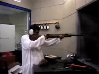 Arab Shooting Gun Test
