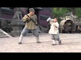 Jackie Chan learning Shaolin techniques from a Kid