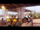 Ужин и закат в Cafe Del Mar в Гоа (Индия)