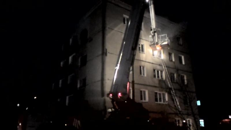 Пожар в поселке Новоомский 28.01.2018_2