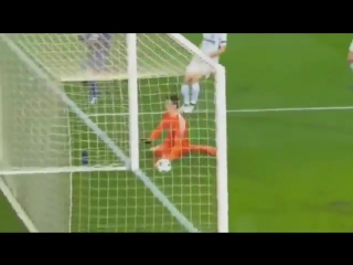 Courtois to real madrid means well be seeing this much more often. tasty.