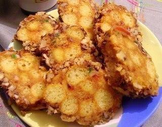 Пирожное из кукурузных палочек