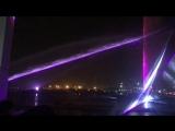 Лазерное шоу в Дубаях