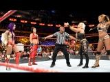 SB_Group Full match Sasha Banks &amp Bayley vs. Alicia Fox &amp Dana Brooke RAW July 16, 2018