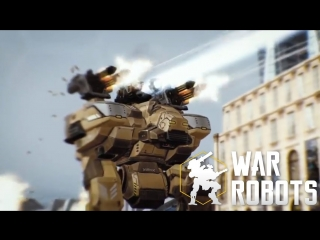 When you wake up in the middle of War Robots battle 🔥 WR trailer