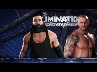 Харпер vs Ортон Elimination Chamber 2017