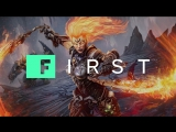 Darksiders III Enter the Flame Hollow IGN First
