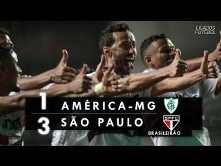 América-mg 1 x 3 são paulo - melhores momentos (hd 60fps) brasileirão 27_05_2018 (2)