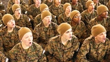 US Marines Female Recruits - Martial Arts Boot Camp