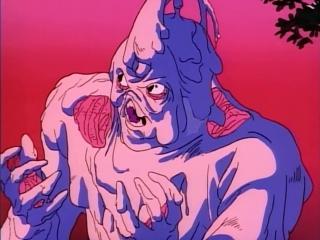 Гайвер - биомеханическая броня. Эпизод 3. Таинственная тень!.. (ОВА 1989 года) (озвучили: группы SHIZA и AniFilm). Часть 1.