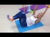 Упражнение для проработки мышц пресса и спины