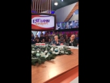 Съемки на Первом канале передачи