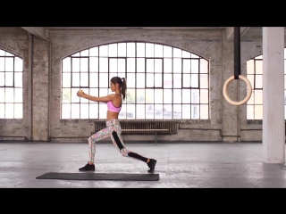 Train Like An Angel 2014_ Alessandra Ambrosio Full-Body Workout