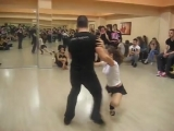 Ritmo Nuevo DC Nikos Peroulis Maria Tango Lesson 1- Athens Salsa Spring Festival 2012 360p