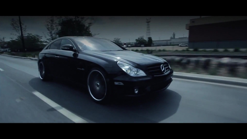Mercedes Benz CLS55 AMG Rohana Wheels RC10