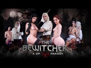 Ella Hughes, Olive Glass, Clea Gaultier & Danny D, The Bewitcher: A DP XXX Parody (2018)