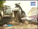 400 пней от вырубленных деревьев удалят в Иркутске