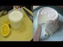 Con 1 Litro De Leche 1 Yogur Natural y Medio Limón Harás El Mejor Queso Casero Jamás Visto