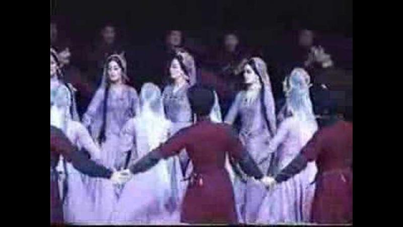Gos Ensemble ABKHAZIA Avrasha Abhaz Dansı Avraşa